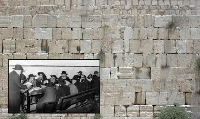 40 days at the Kotel!